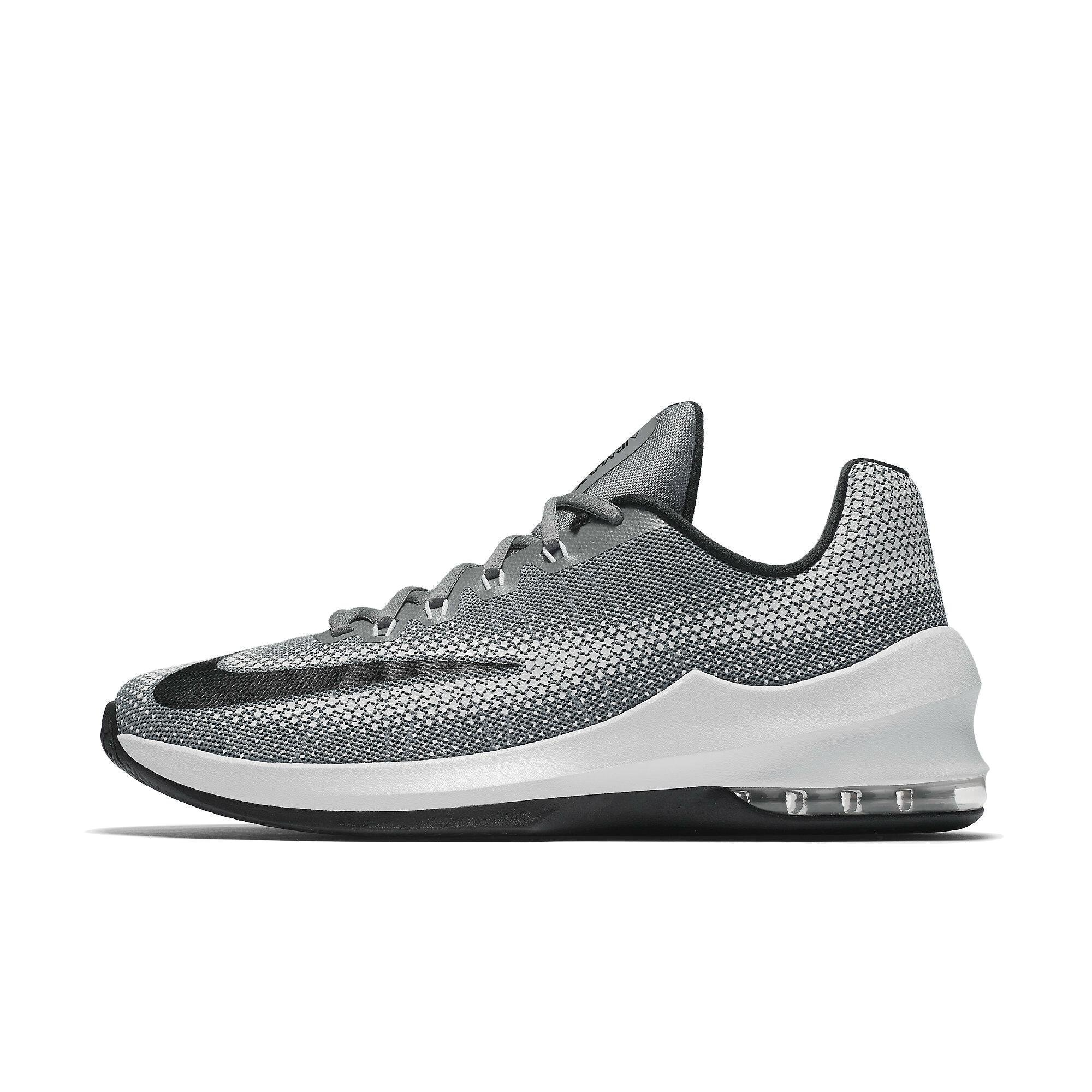 sports shoes 98edd b958d Galleon - Nike Mens Air Max Infuriate Low Basketball Shoes-Cool Gray-10.5