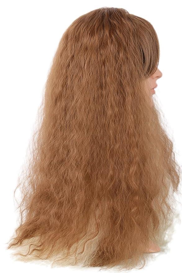 mesky peluca mujer HERMIONE inanzia/madurez cosplay disfraz ...