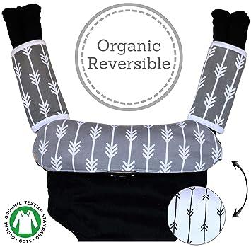 Amazon.com: Babas y dentición almohadilla Reversible algodón ...