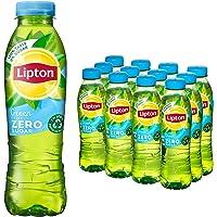 Lipton Zero Sugar Ice Tea Green een heerlijk verfrissende ijsthee - 12 flessen - 500 ml - Voordeelverpakking