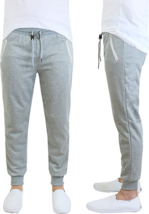 ff2322a1a654 Galaxy by Harvic Men s French Terry Jogger Pants (Small