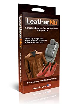 LeatherNu Complete Leather Color Restoration & Repair Kit