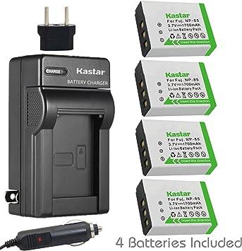 1500mah, 3.7v, Li-ion Compatible with Fujifilm FinePix SL1000 Fujifilm FinePix SL240 NP-85 Battery and Charger Replacement for Fujifilm Digital Camera Fujifilm FinePix SL300