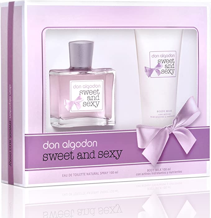 Don Algodon Don Algodon Sweet & Sexy Lote 2 Pz: Amazon.es: Belleza