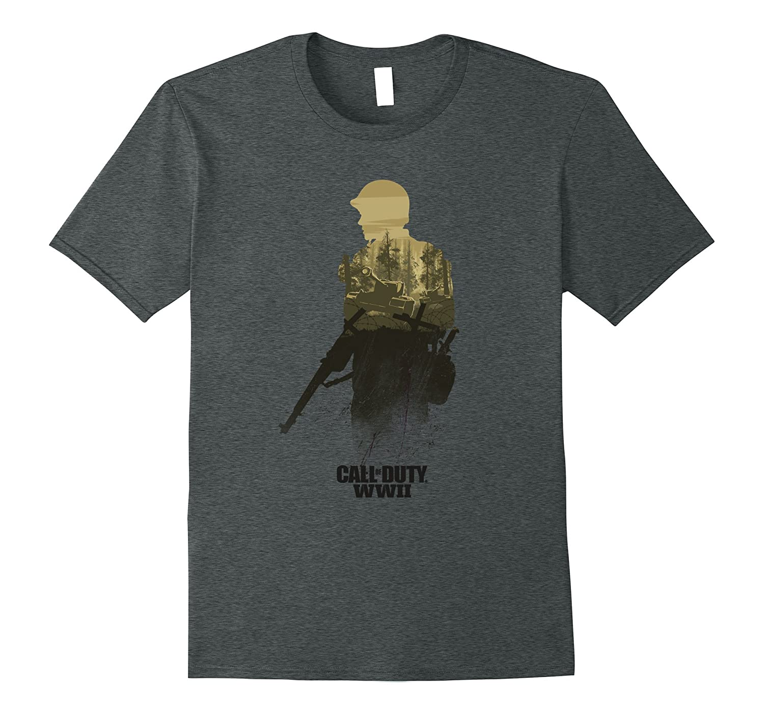 Call of Duty WWII - Forest Front Line T-Shirt-RT