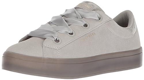 40499cf25a4d Skechers Street Women s s Hi-lite-Suede Satin Sneaker  Amazon.co.uk ...
