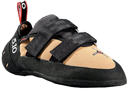 Five Ten Anasazi - Zapatillas de Escalada con Velcro para Hombre, Color Marrón, Talla