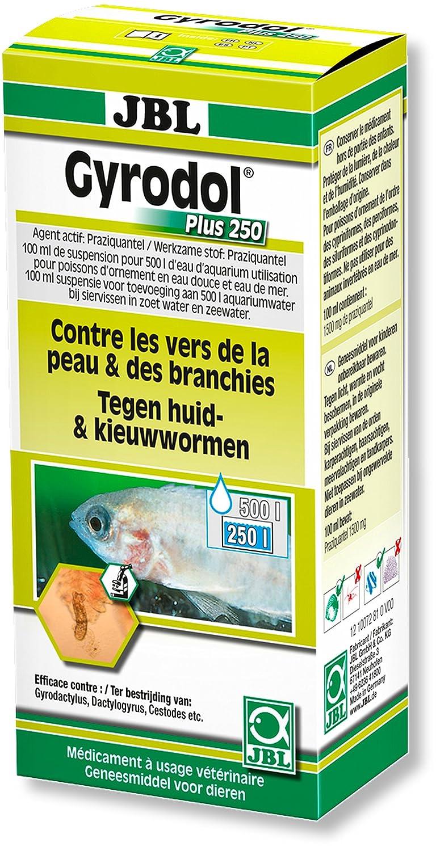 JBL Gyrodol Plus 250 Hygiène/Santé de Poisson Aquariophilie 100 ML - Lot de 2 1007281
