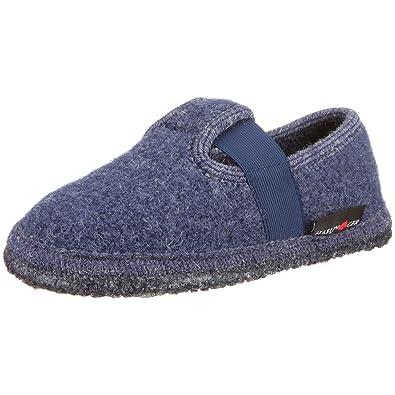 Haflinger Slipper Joschi, Unisex Indoor Shoes, (72 Jeans)