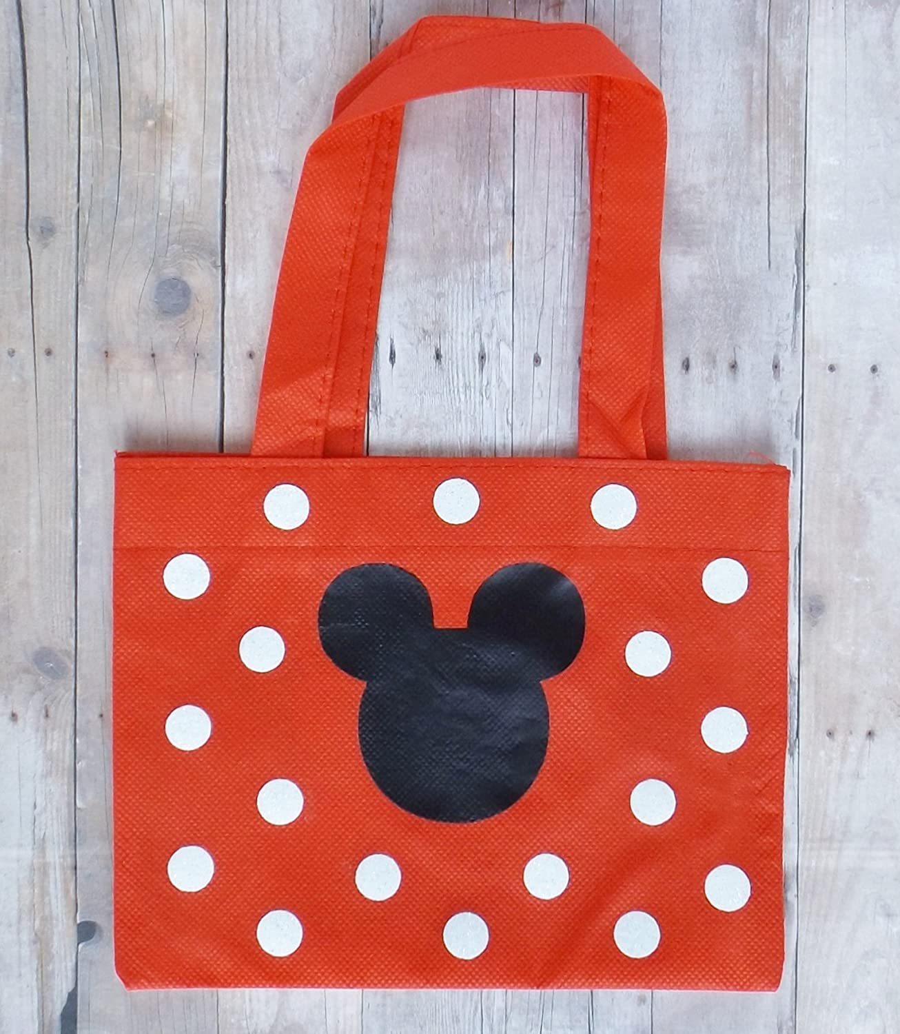 Small Red Child's Mickey Mouse Tote Bag
