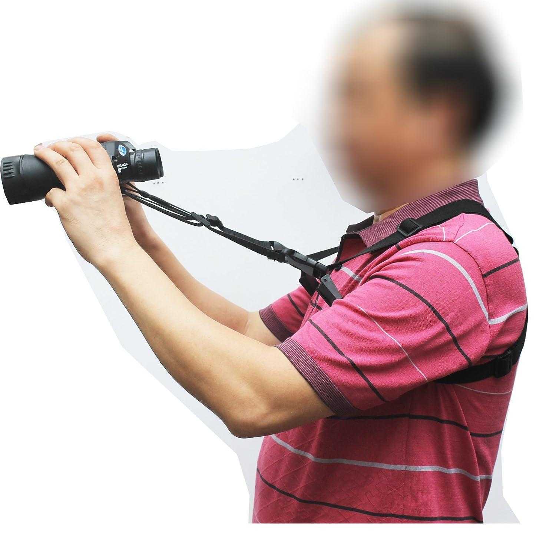 810eTXFa%2BhL._SL1500_ 4 way adjustable quick release binocular shoulder strap binocular
