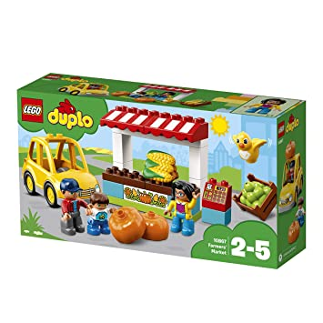 d43db2a415699 Buy LEGO Duplo Town Farmers Market Building Blocks for Kids 2 to 5 Years  (26 Pcs)10867 Online at Low Prices in India - Amazon.in