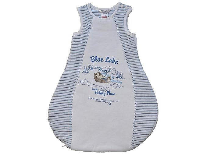 JACKY Saco de dormir - para bebé Blau/Weiss: Amazon.es: Ropa y accesorios