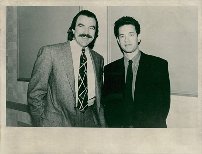 What Size Shoe Does Tom Selleck Wear.Vintage Photo Of Tom Selleck Along With Actor Tom Hanks