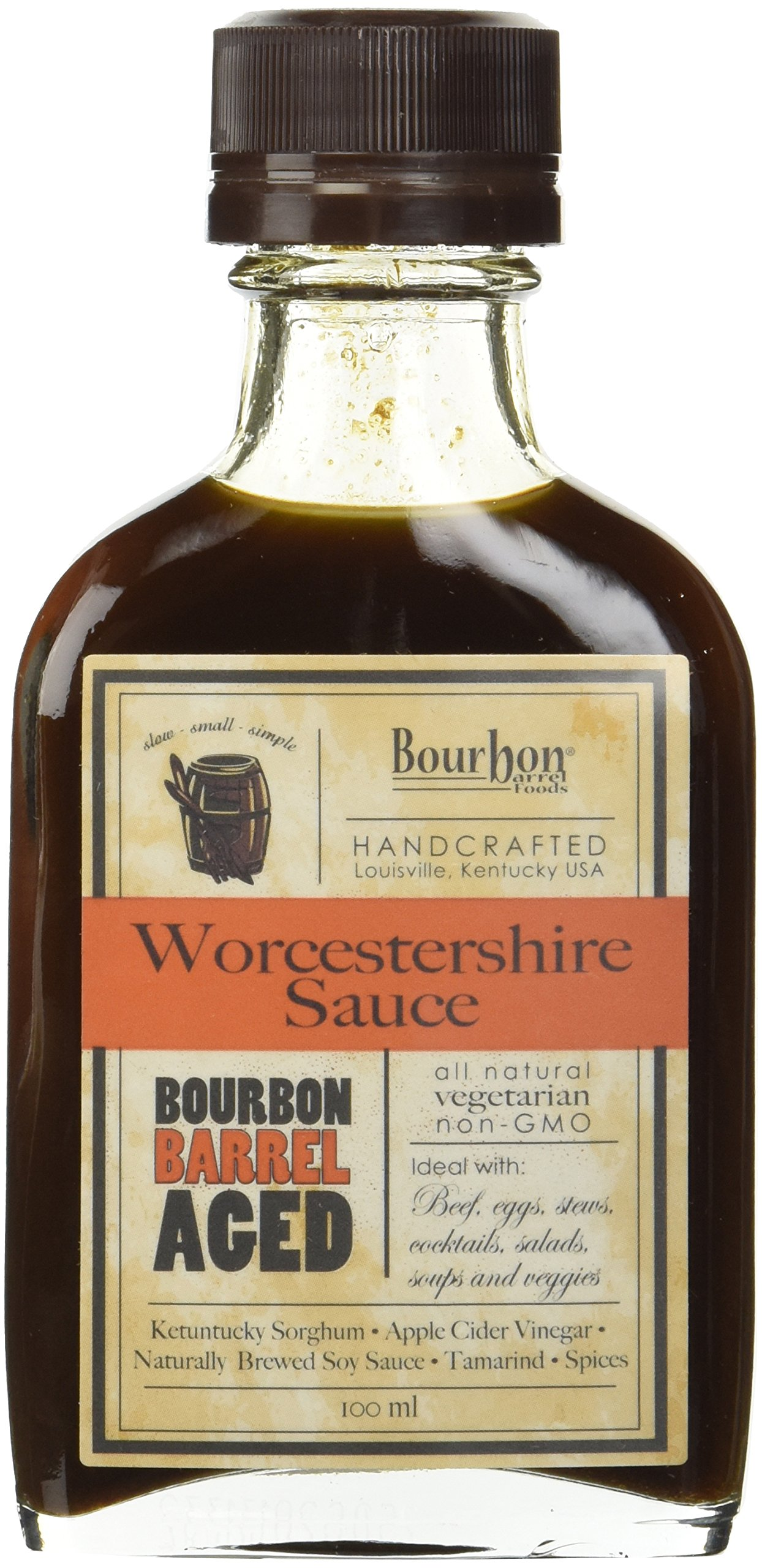 Bourbon Barrel Aged Worcestershire Sauce 100ml (2 Pack)