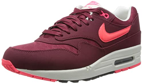 3af244cb53 Nike Men's Air Max 1 Premium, Red Running Shoes red Size: 5.5 ...