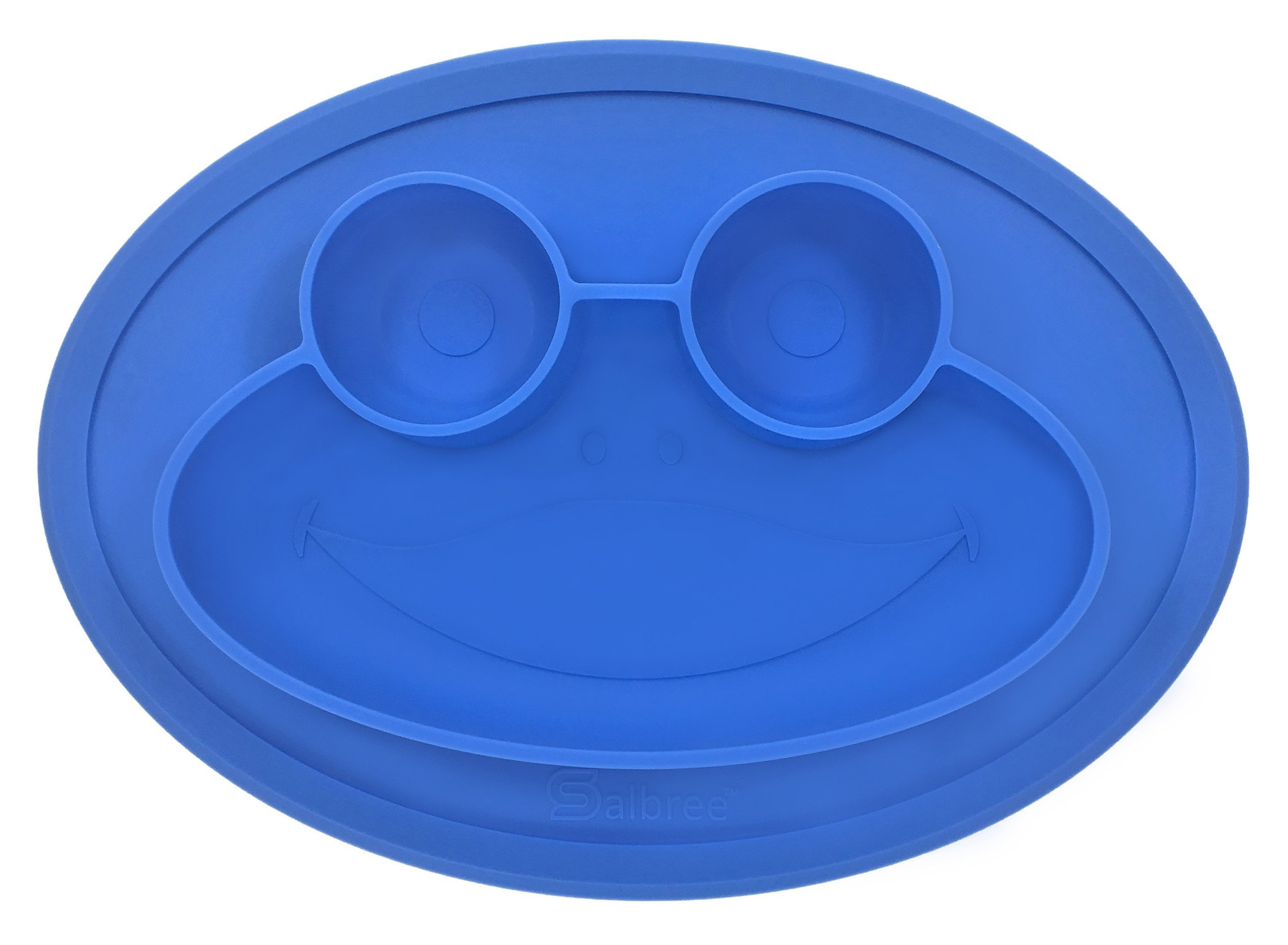 Amazon.com : Round Silicone Frog Suction Placemat for Children, Kids ...