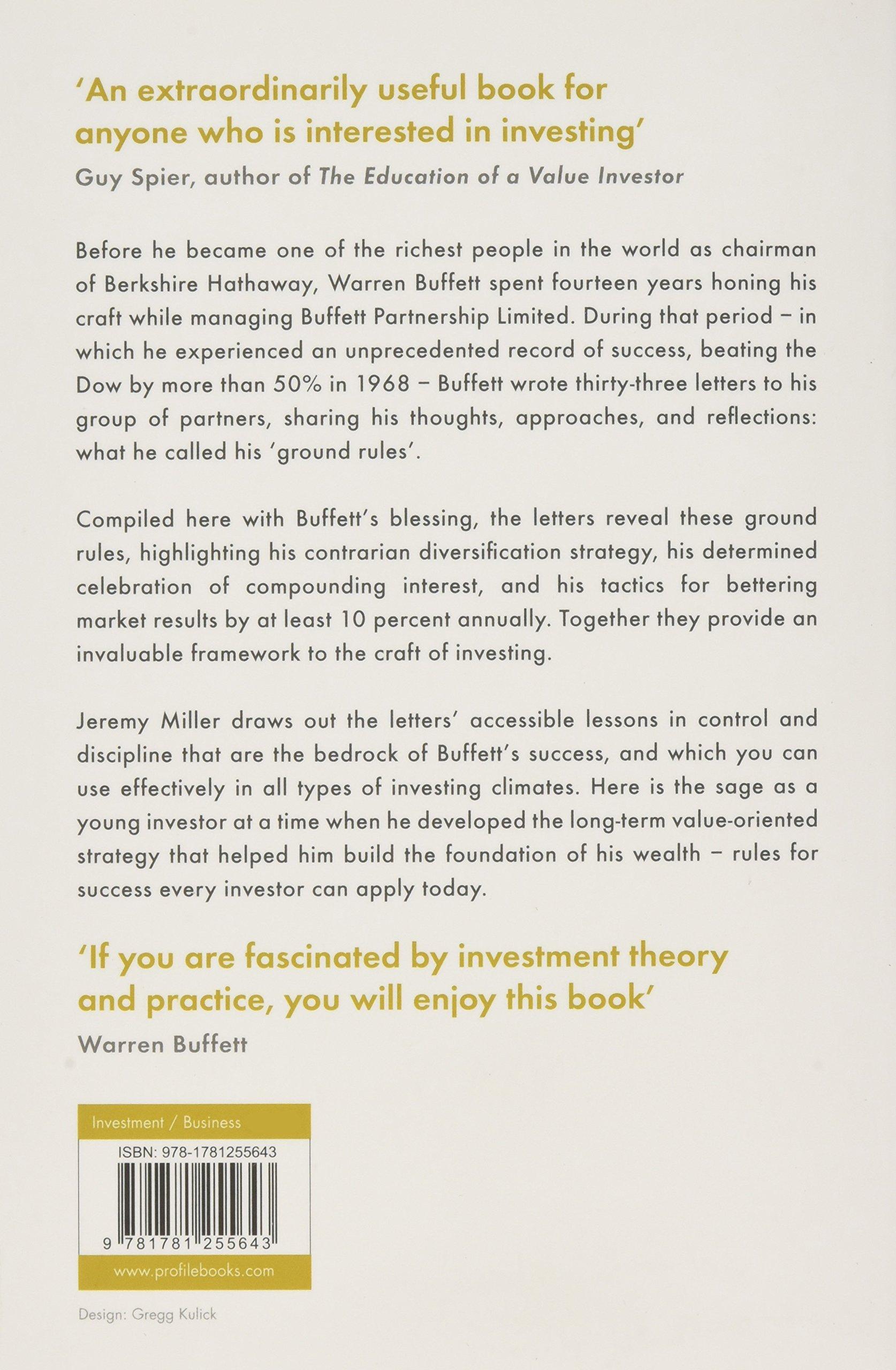 Warren Buffett\'s Ground Rules: Words of Wisdom from the Partnership ...