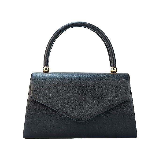 Vintage Handbags, Purses, Bags *New* Womens Classic Envelope Evening Bag WALLYNS Wedding Prom Party Clutch Handbag Purse  AT vintagedancer.com
