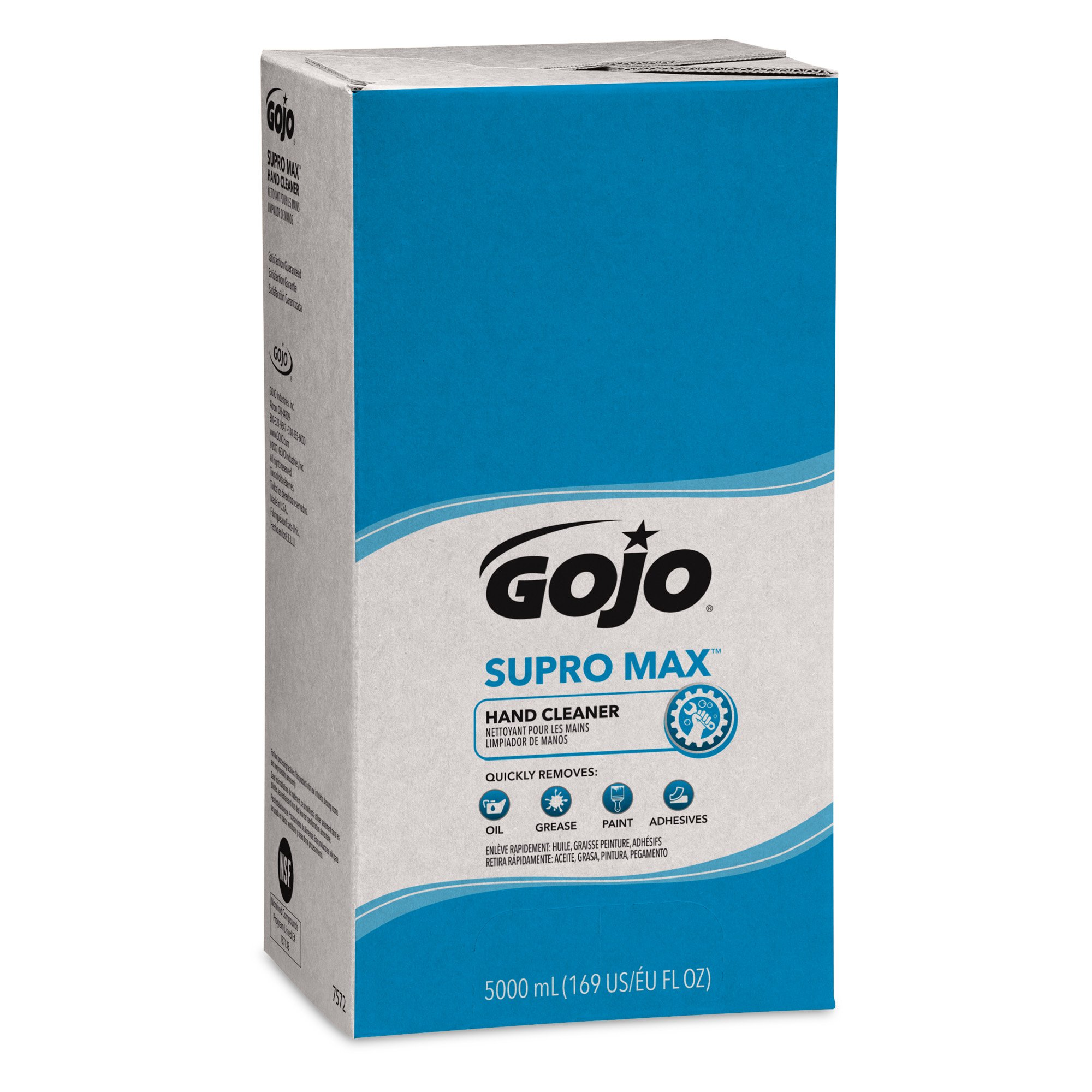 GOJO PRO TDX SUPRO MAX Hand Cleaner, 5000 mL Heavy-Duty Hand Cleaner Refill for GOJO PRO TDX Dispenser (Pack of 2) - 7572-02 by Gojo (Image #4)