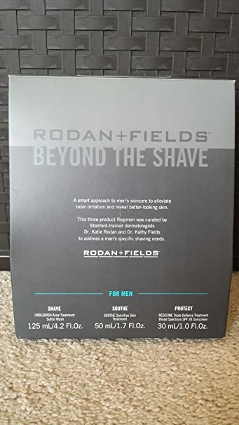 Cool Amazon Com Rodan And Fields Regimen Beyond The Shave For Men Beauty Short Hairstyles Gunalazisus