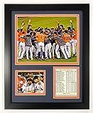 Legends Never Die 2017 MLB Houston Astros World Series Champions Framed Photo Collage, Celebration, 12 x 15