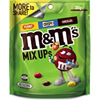 M&M's Mix Up's (Milk Chocolate,  Peanut, Crispy) Large Bag (305g) (Packaging may vary)