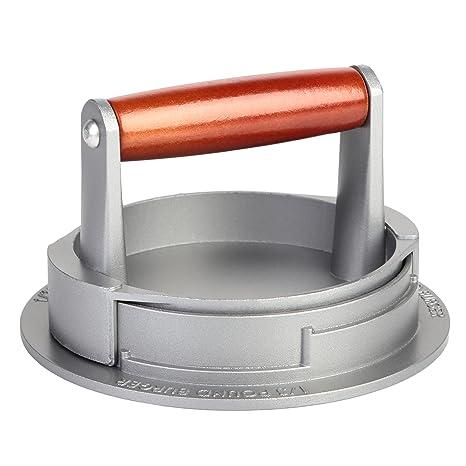 BetterDays 3 en 1 Prensa de hamburguesas y molde para hacer hamburguesas de aluminio antiadherente ¡