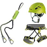 Edelrid Klettersteigset Cable Kit Lite 5.0 + Gurt Größe S + Helm