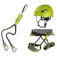 Edelrid Klettersteigset Cable Kit Lite 5.0 + Gurt Größe L + Helm