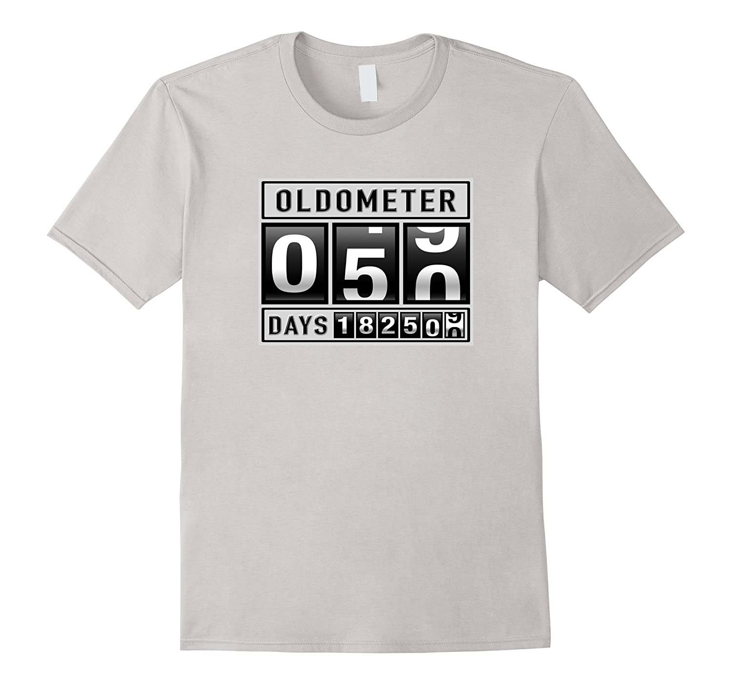 e75dbb414 OLDOMETER 50 Years Old T-Shirt Made In 1967 50th Birthday-ANZ ...