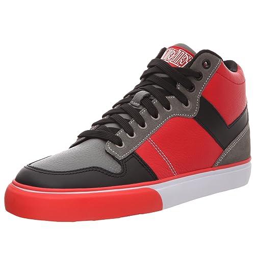 Pony - Zapatillas de deporte de cuero para hombre, Rojo, 41: Amazon.es: Zapatos y complementos