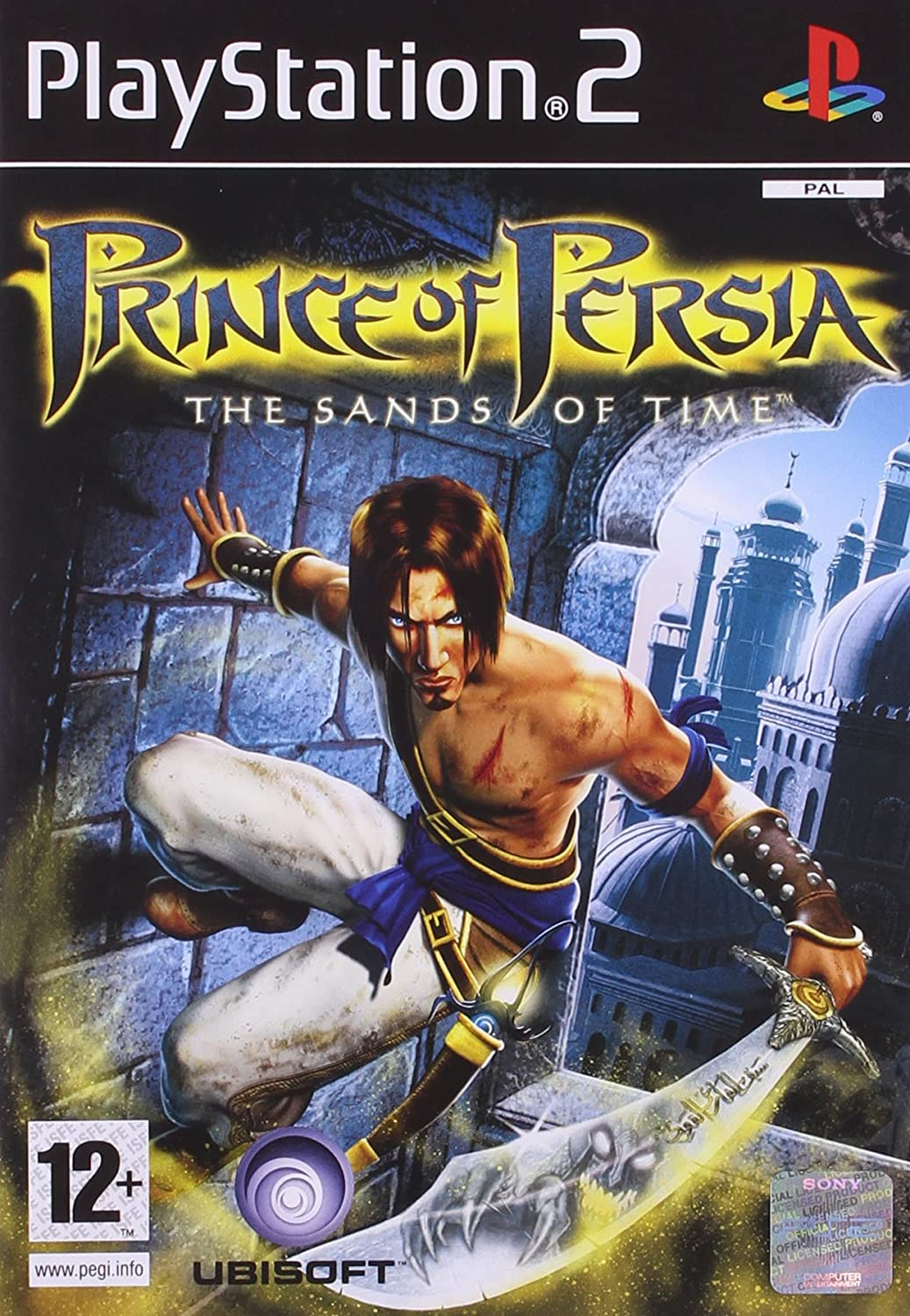 Amazon Com Prince Of Persia The Sands Of Time Video Games