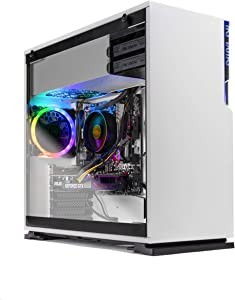 SkyTech Shiva Gaming Computer PC Desktop – Ryzen 5 2600 6-Core 3.4 GHz, NVIDIA GeForce RTX 2060 6G, 500G SSD, 16GB DDR4, RGB, AC WiFi, Windows 10 Home 64-bit