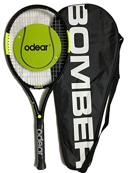 4dbcac034bfcb Buy ODEAR Bomber PRO Tennis Racquet 300 GM Online at Low Prices in ...