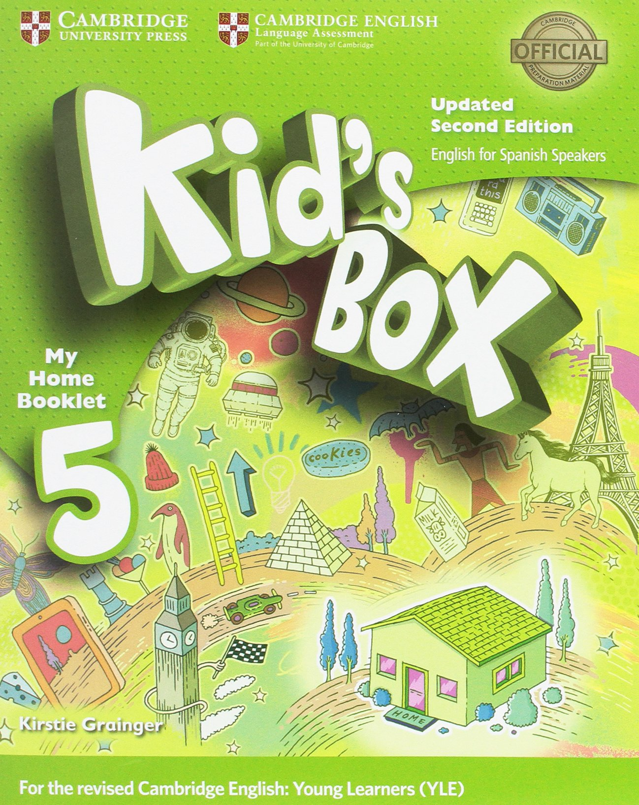 Kid's Box Level 5 Activity Book with CD ROM and My Home Booklet Updated  English for Spanish Speakers Second Edition - Pack de 3 libros -  9788490369692: ...