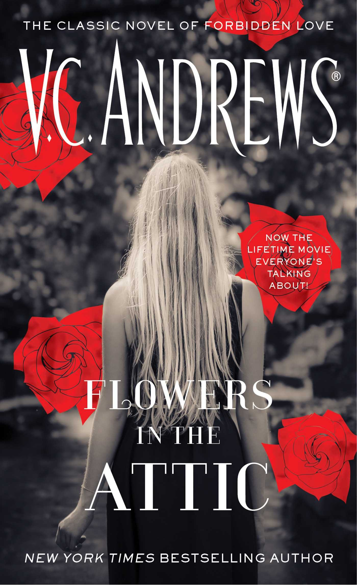 the attic book Flowers cover in