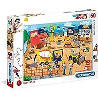 Clementoni - 26990 - Supercolor Puzzle - Men at work - 60 parça