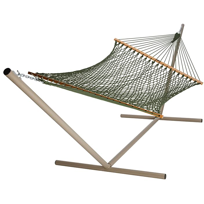 Original Pawleys Island Pawley's Island 13DCMDW DuraCord Rope Hammock, Meadow, Large