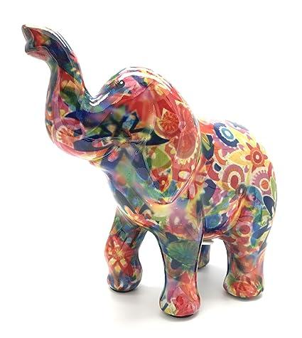 Pomme Pidou Zara, el elefante caja de dinero en multicolor