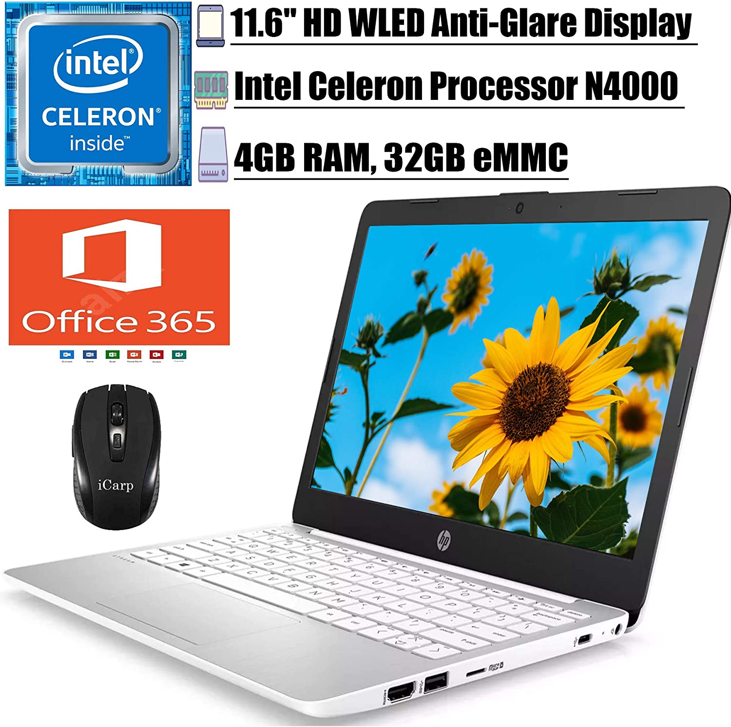 2020 Premium HP Stream 11 Laptop Computer 11.6