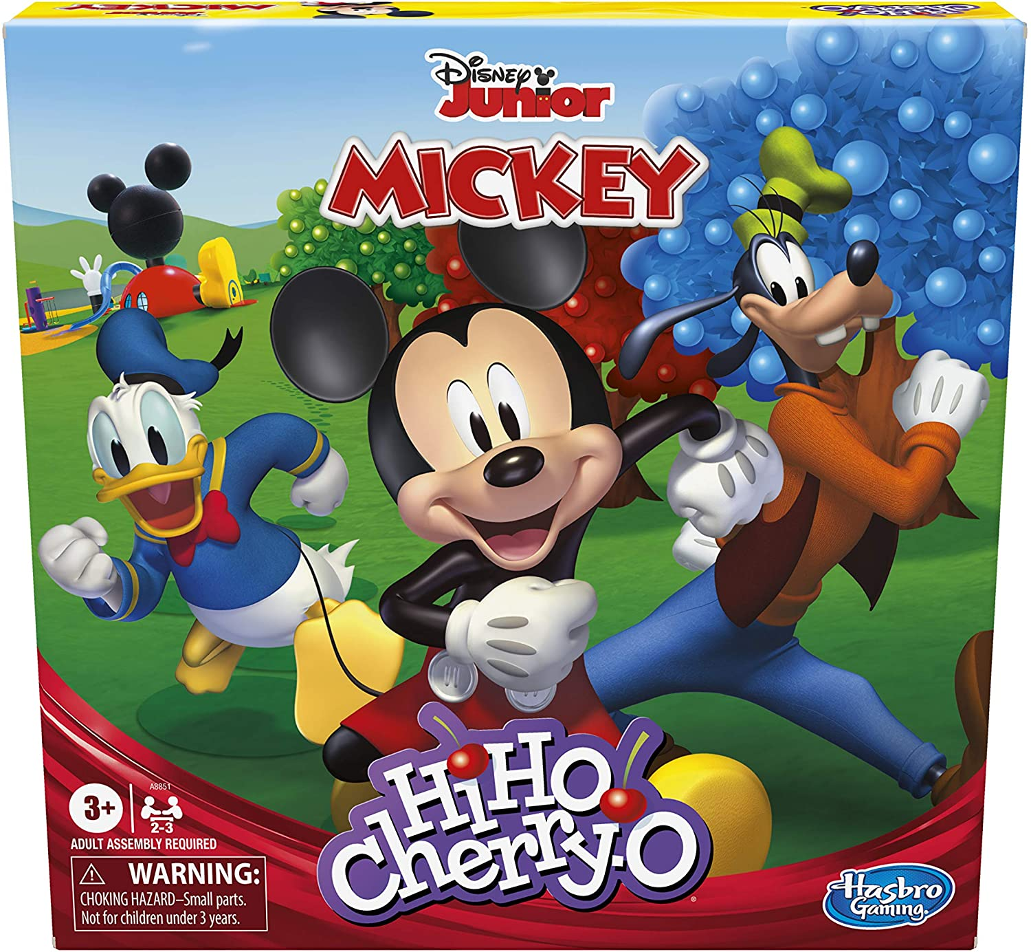Hasbro Hi Ho Cherry-O Game Disney Mickey Mouse Clubhouse Edition ( Exclusive): Toys & Games