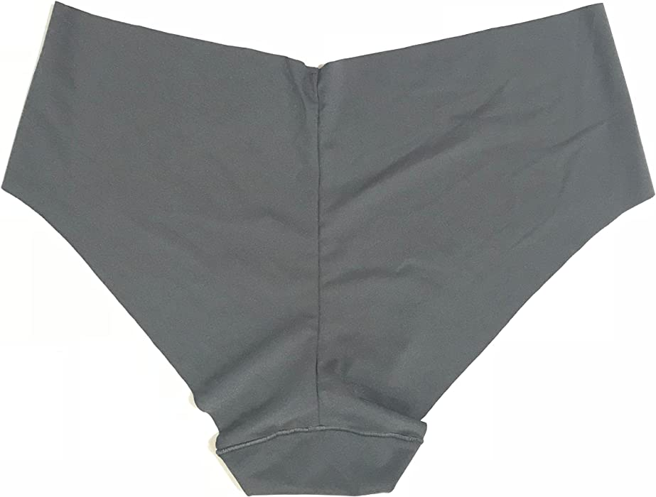 0ea93f7459 Victoria s Secret Seamless No Show Hiphugger Hipster Grey Panty Sz Medium