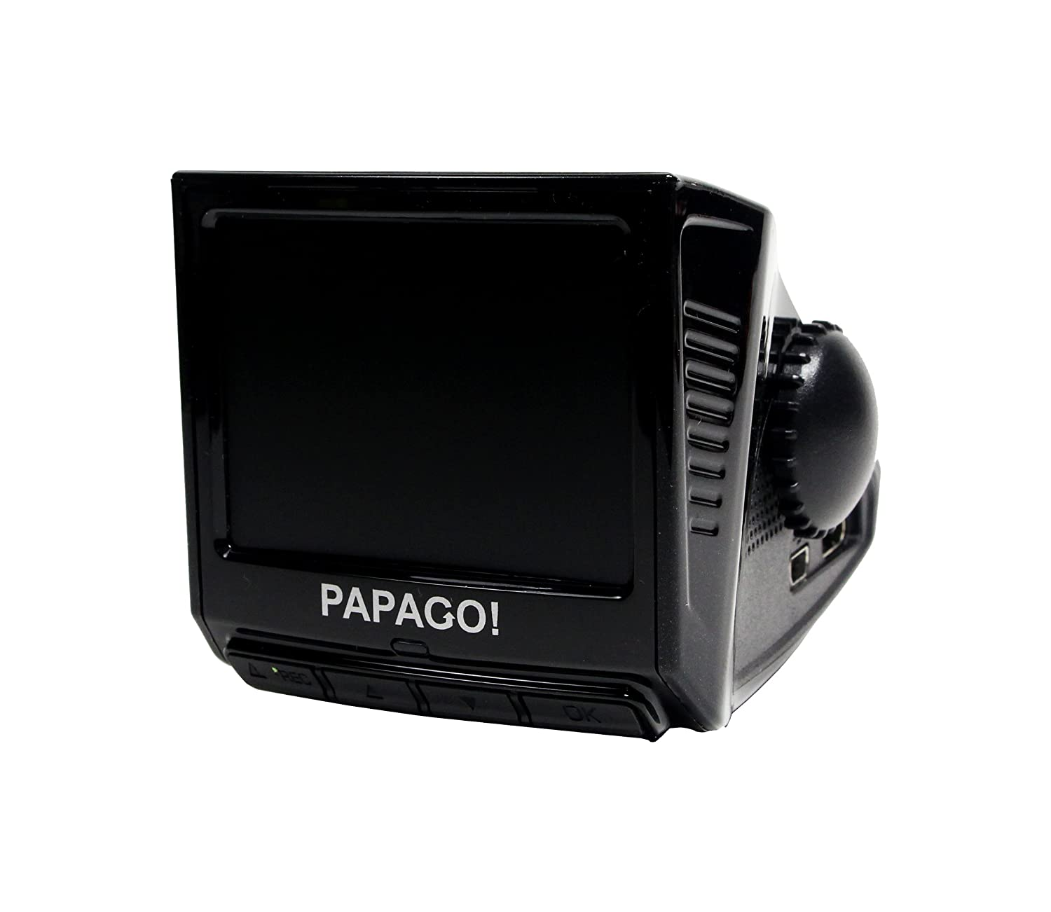 White PAPAGO Inc. PAPAGO P1PRO-US P1 Pro Full HD 1080P Wide Viewing Angle Dashcam 2.4-Inch LCD