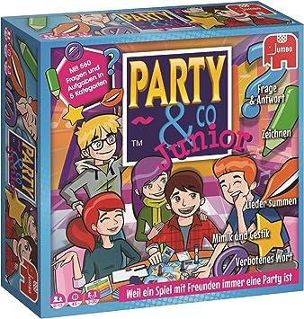 Party & Co. Junior Niños y adultos Juego de mesa de carreras - Juego de tablero (Juego
