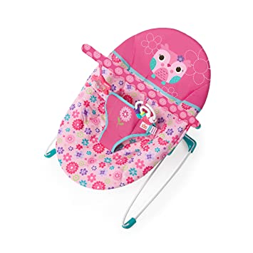 f2c04412a Bright Starts Happy Flowers Vibrating Bouncer  Amazon.co.uk  Baby