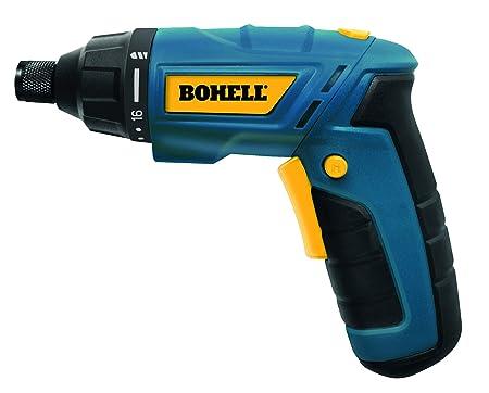Bohell AT36LI - Atornillador sin cable de doble posición, con baterías de litio de 3.6 V, velocidad 180 rpm, 16+1 posiciones de par, par máximo 3Nm