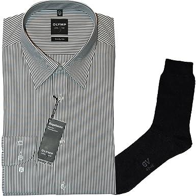 OLYMP Señor Camisa niveles Five, Body Fit, manga larga, cuello ...