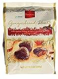 Favorina Dark Chocolate Gingerbread Hearts