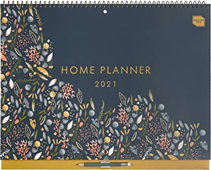 in inglese) Boxclever Press Home Planner Calendario 2021